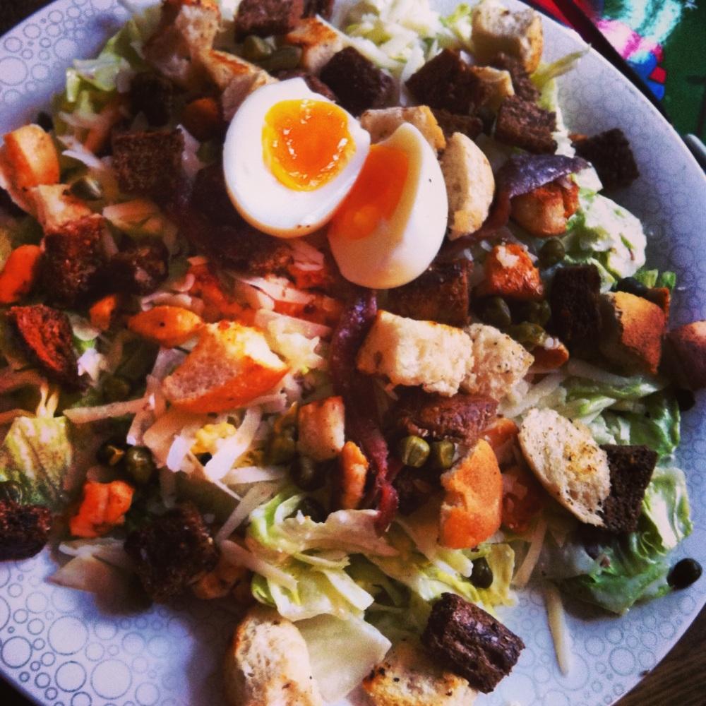 Caesar Salad (de slanke versie)