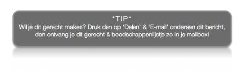 TIP - delen e-mail recept