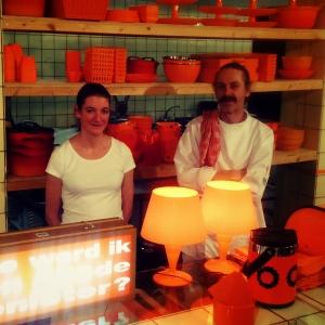 Jan-Hein & Mirale van Tijdelijk Restaurant Strijp-S