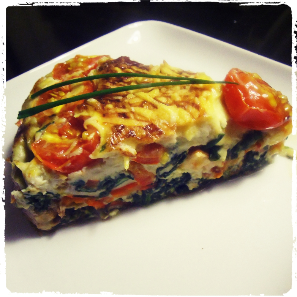 Superslanke After-work out Dish: Quiche zonder korst