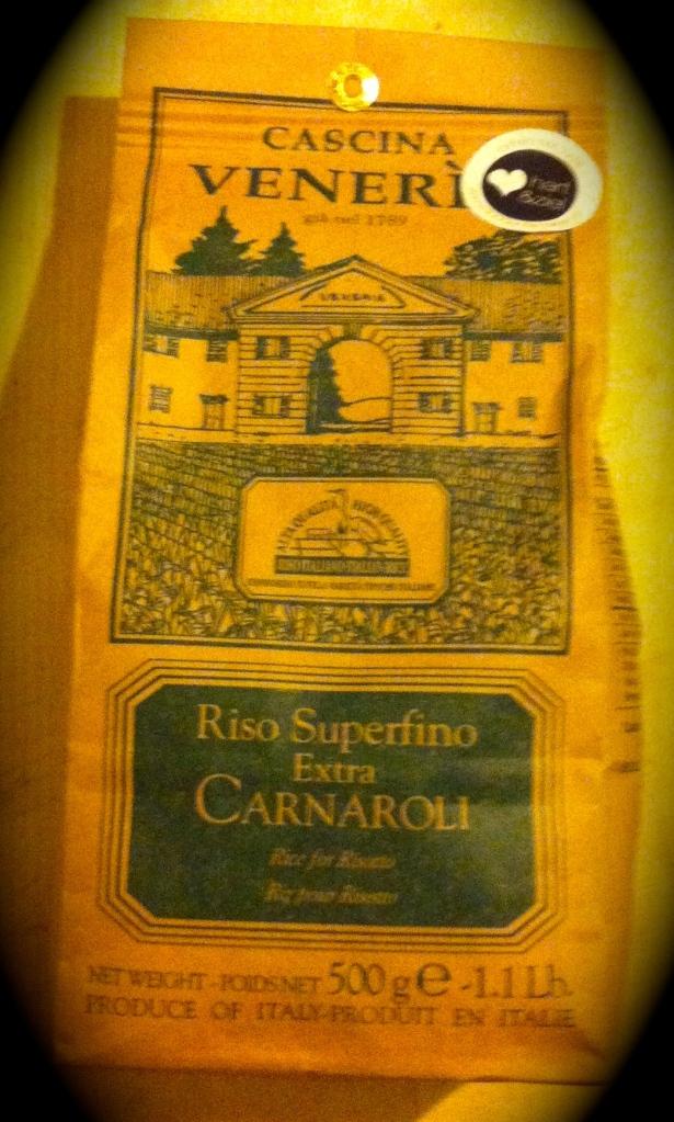 Carnaroli is één van de beste soorten rijst om risotto van te maken. De rijstkorrel heeft een mooie structuur en neemt gemakkelijk vocht op, zonder dat de 'bite' er minder van wordt. Ook als de rijst te lang heeft gekookt.