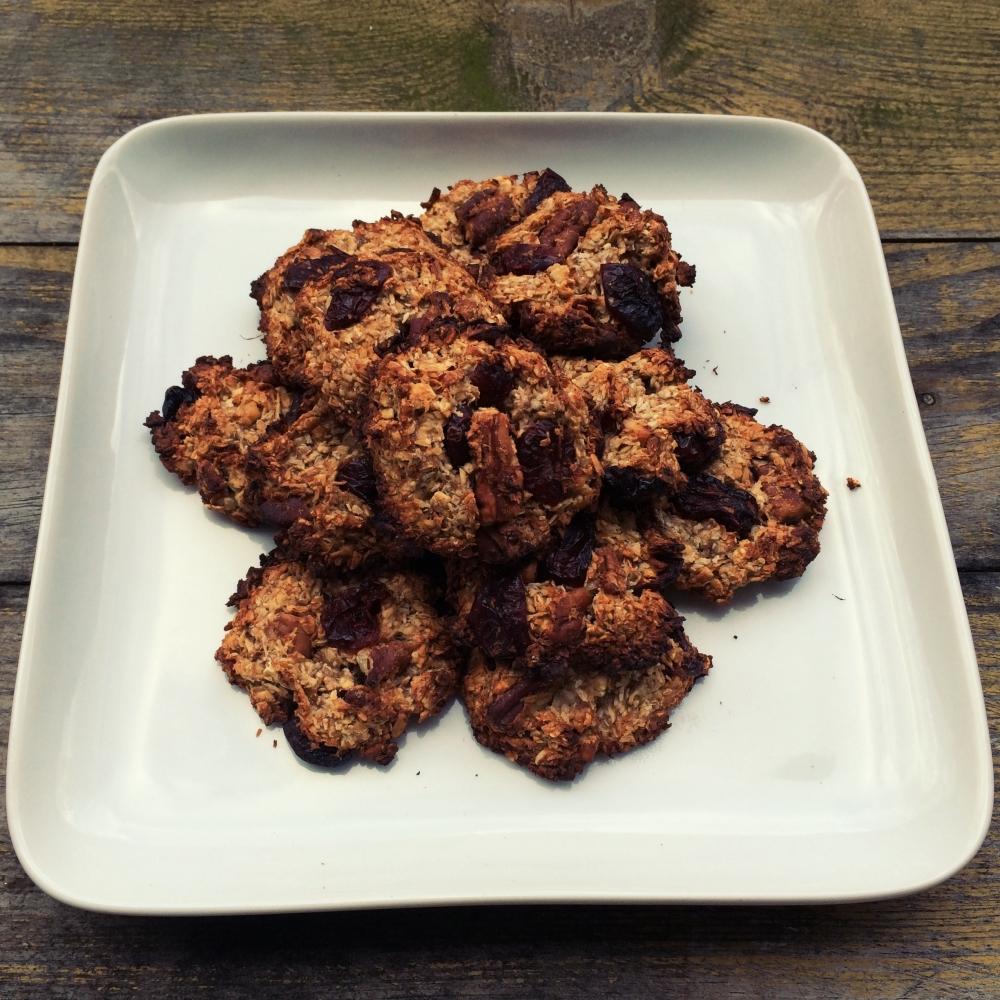 's Werelds gezondste koekjes! (Met havermout, banaan, kokos, kaneel)