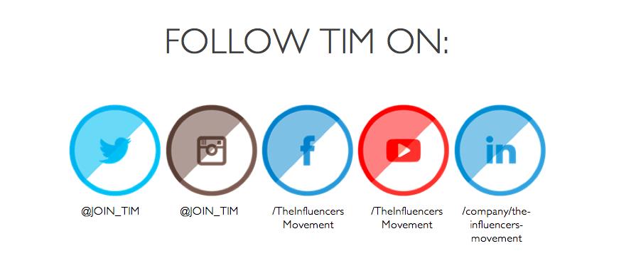 TIM Social wit